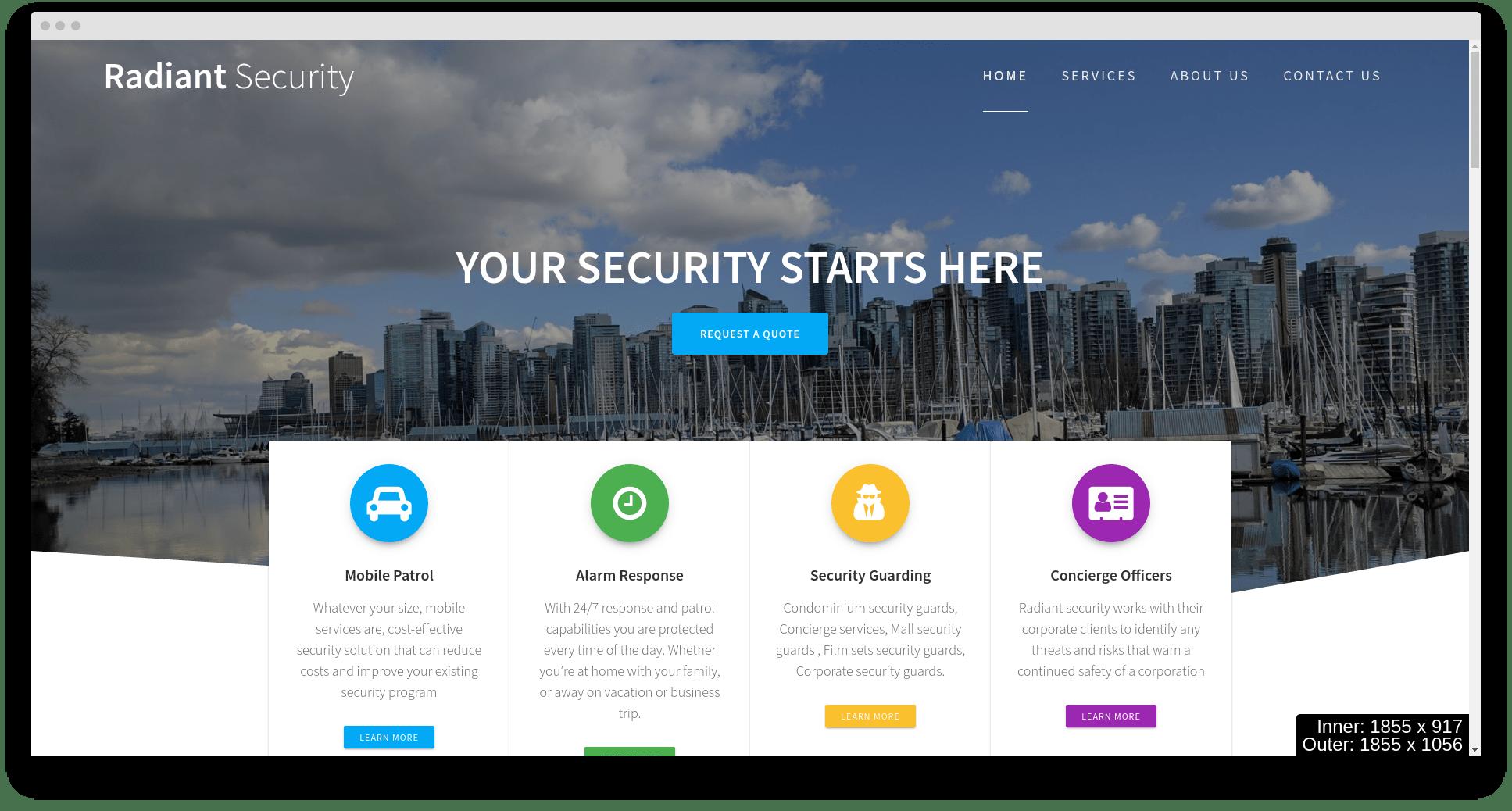 Website design in Burnaby